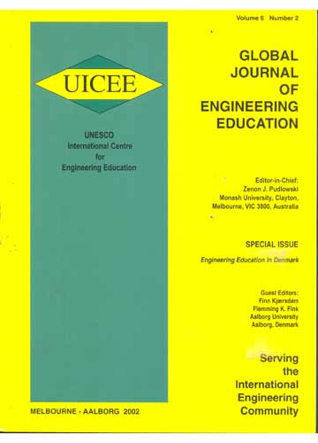 Global Journal of Engineering Education - Volume 6 - Número 2