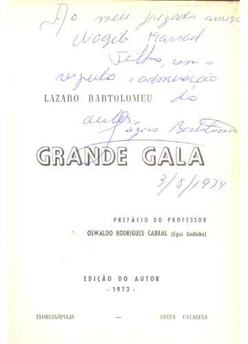 Grande Gala - Com Dedicatória do Autor