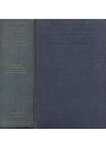 Harrap's Shorter French and English Dictionary