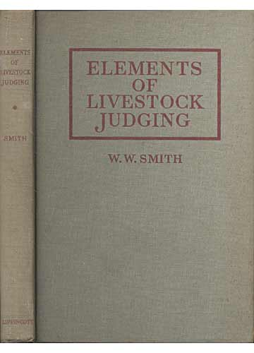 Elements of Livestock Judging