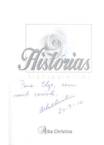 Histórias Transparentes - com dedicatória da autora
