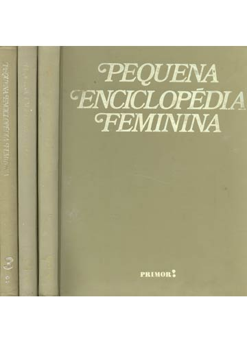 Pequena Enciclopédia Feminina - 3 Volumes