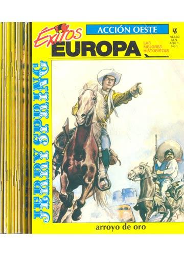 Coleção Exitos Europa - Jerry Spring - 11 Volumes
