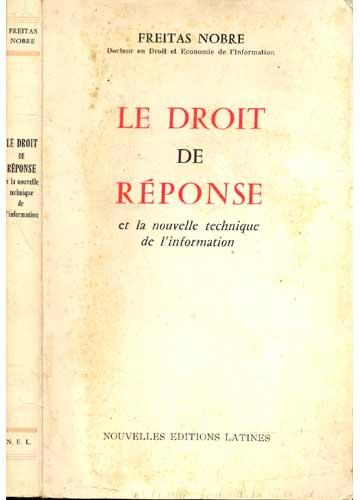Le Droit de Réponse