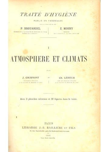 Traité D'hygiène - Atmosphere et Climats