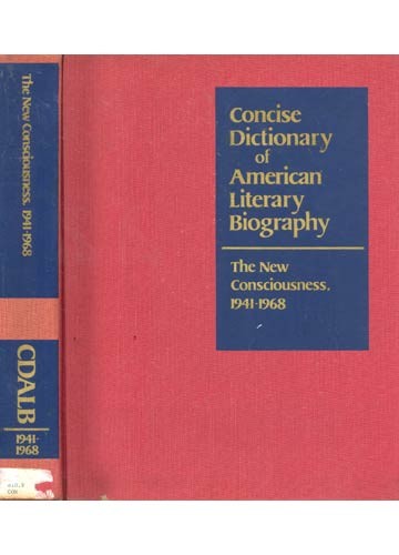 The New Consciousness 1941 - 1968