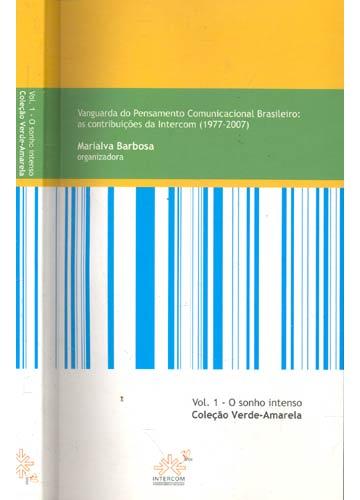 O Sonho Intenso - Volume 1 - Coleçaõ Verde-Amarelo