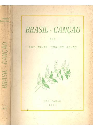 Brasil-Canção - Com Dedicatória do Autor