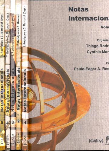 Notas Internacionais - 5 Volumes