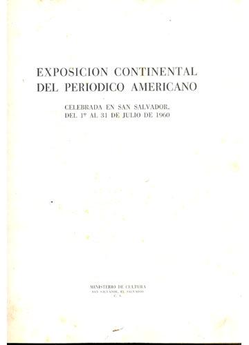 Exposicion Continental del Periodico Americano