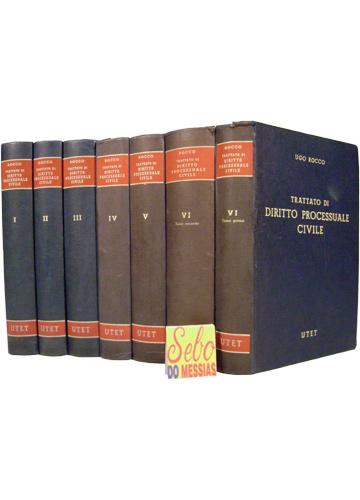 Trattato di Diritto Processuale Civile - 6 Volumes em 7 Tomos