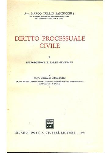 Diritto Processuale Civile - 3 Volumes