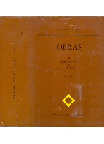 Obras de Mouzinho da Silveira - Volume 2 - Manuscritos e Impressos