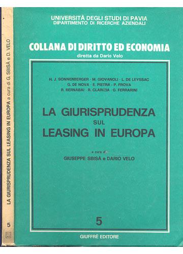 La Giurisprudenza sul Leasing in Europa