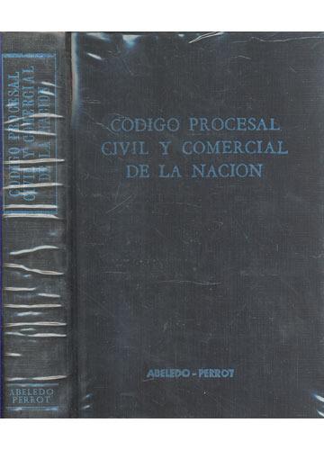 Código Procesal Civil y Comercial de la Nacion