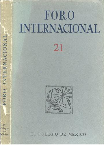 Foro Internacional - 21