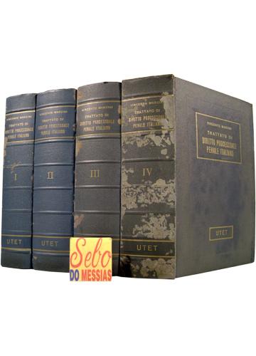 Trattato di Diritto Processuale Penale Italiano - 4 Volumes