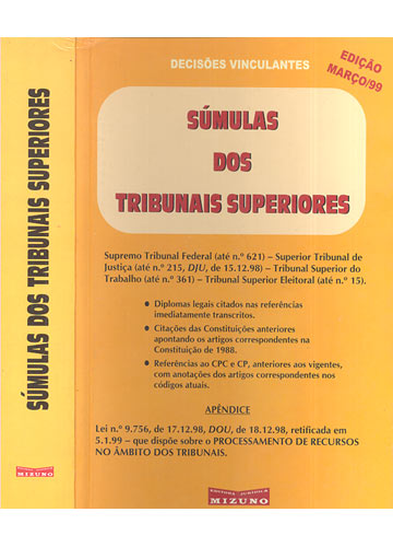 Súmulas dos Tribunais Superiores