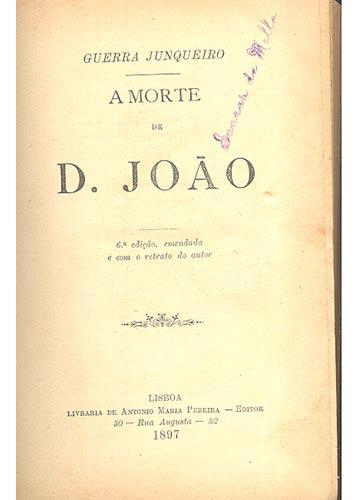 A Morte de D. João
