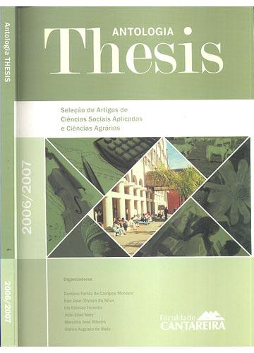 Antologia Thesis - 2006/2007