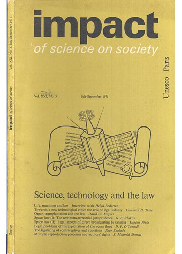 Impact of Science on Society - Volume 21 - Número 3 - Julho/ September