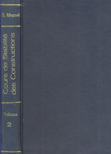 Cours de Stabilité des Constructions - Volume 2