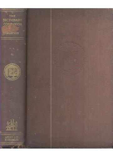 The Dictionary Companion - Com Ex-Libris do J. A. Martin