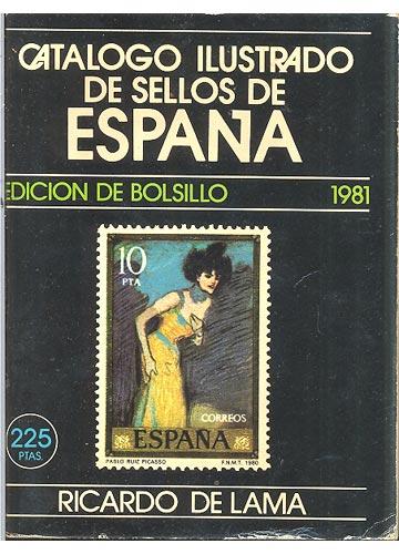 Catalogo Ilustrado de Sellos de Espana