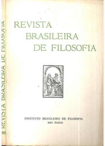 Revista Brasileira de Filosofia - Fasc 108  - Volume 27