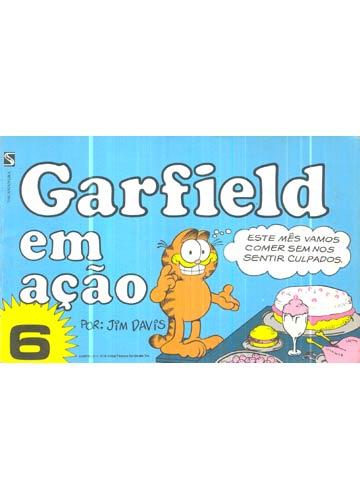Garfield em Ação - Nº.06
