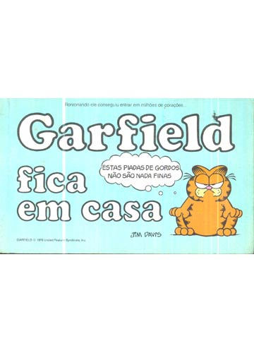 Garfield Fica em Casa