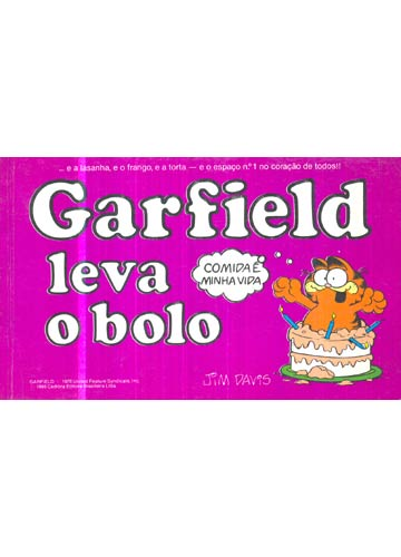 Garfield Leva o Bolo