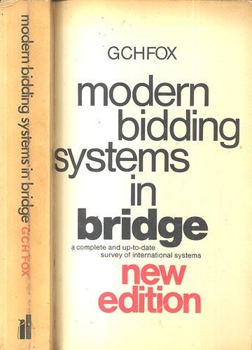 Modern Bidding Systems in Bridge
