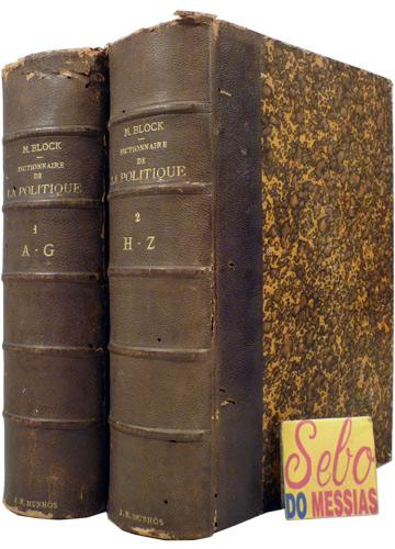 Dictionnaire Général de la Politique - 2 Volumes