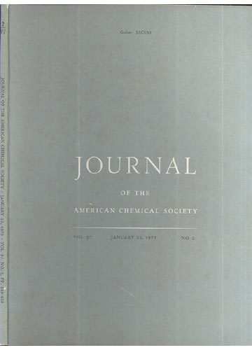 Journal Of The American Chemical Society - January 22, 1975 - Vol. 97, No. 2