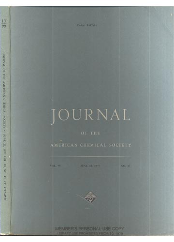Journal Of The American Chemical Society - June 22, 1977 - Vol. 99, No. 13