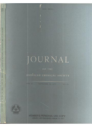 Journal Of The American Chemical Society - November 12, 1975 - Vol. 97, No. 23