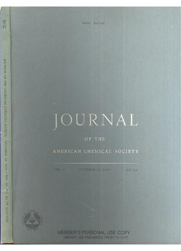 Journal Of The American Chemical Society - Octuber 29, 1975 - Vol. 97, No. 22