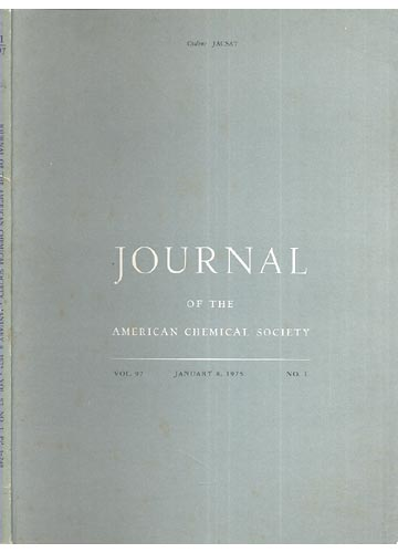 Journal Of The American Chemical Society - January 8, 1975 -  Vol. 97, No. 1