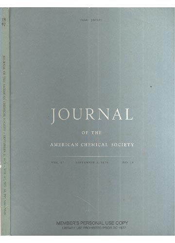 Journal Of The American Chemical Society - September 3, 1975 -  Vol. 97, No. 18