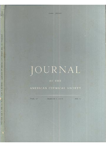 Journal Of The American Chemical Society - March 5, 1975 -  Vol.  97, No. 5