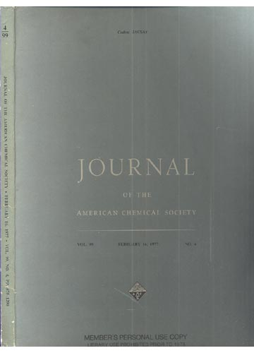 Journal Of The American Chemical Society - February 16, 1977 - Vol. 99, No. 4