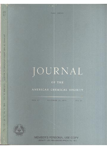 Journal Of The American Chemical Society - October 15, 1975 - Vol. 97, No. 21