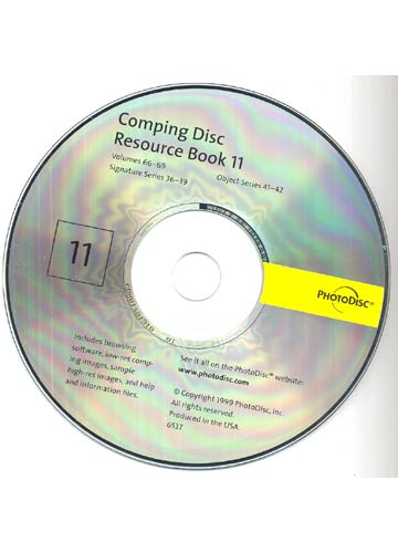 Photodisc Resource Book 11 - Com Cd