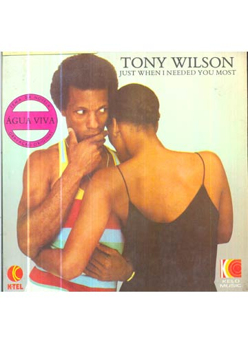 Tony Wilson - Just When i Needed You Most - *Compacto*