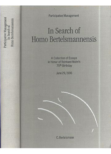 Participative Management in Search of Homo BertelsmannensisBertelsmannensis
