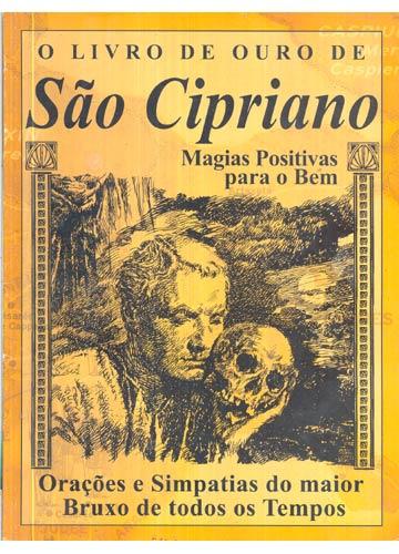 Revista - O Livro de Ouro de São Cipriano - Sebo do Messias