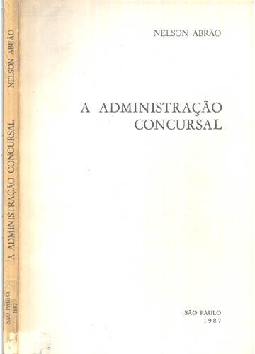 A Administração Concursal