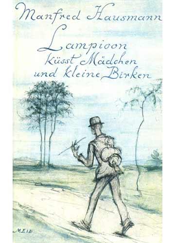 Lampioom Küsst Mädchen und Kleine Birken