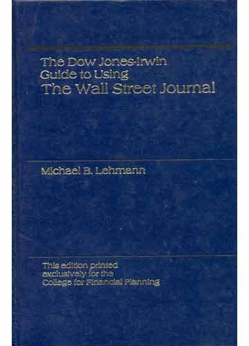 The Dow Jones Irwin Guide to Using